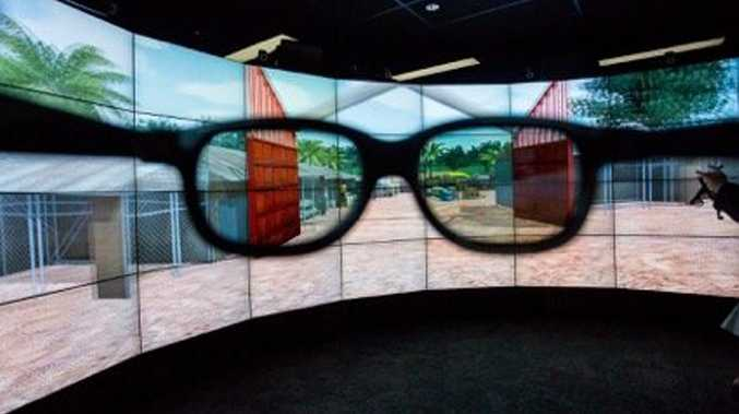 Delegates at the 2016 Smart Communities Summit have the opportunity to visit the University of the Sunshine Coast's high-tech CAVE2 immersion lab and Collaboration Studio which feature 2D and 3D capabilities.