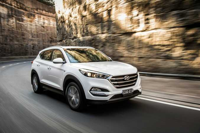 2016 Hyundai Tucson Active X. Photo: Contributed