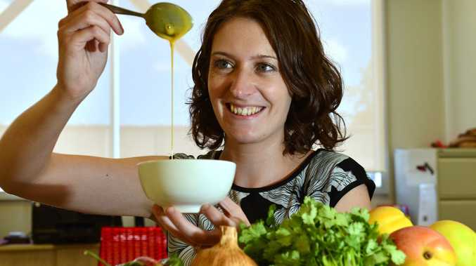 COLLABORATION: Kathryn Ritchie, of Yandina sauce and dressing maker Epicurean Products, says working with regional food growers makes sense.