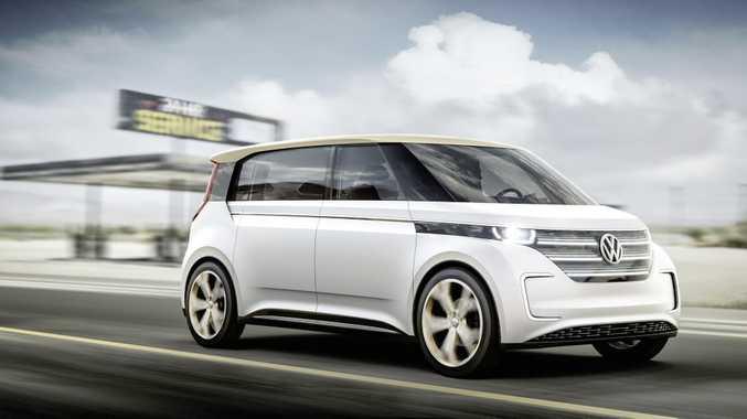 VW's BUDD-e plug-in all-wheel-drive microbus