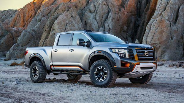 TOUGH STUFF: Nissan Titan Warrior Concept with 5.0-litre V8 diesel