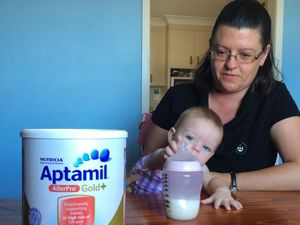 Mums frustrated with baby formula shortage