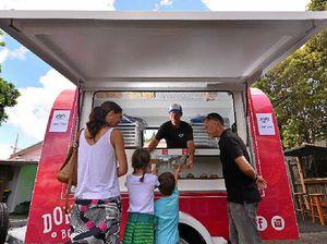 Boyz' fancy donuts pop up at Caloundra's Paisley Park Project