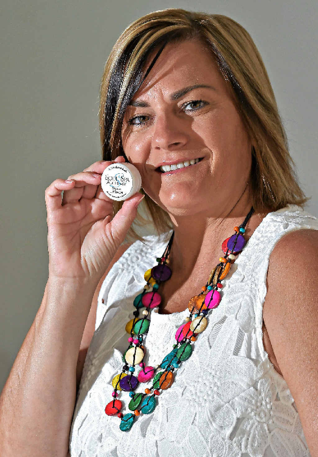 LIP SERVICE: Janine Hall is excited her lip balm will be presented to celebrities staying at the Four Seasons hotel in Beverly Hills for the Academy Awards.