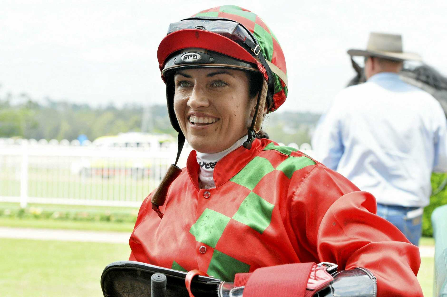 SPECIAL WIN: Tegan Harrison, who took out the Iris Nielsen Hcp at Ballina for a second time.
