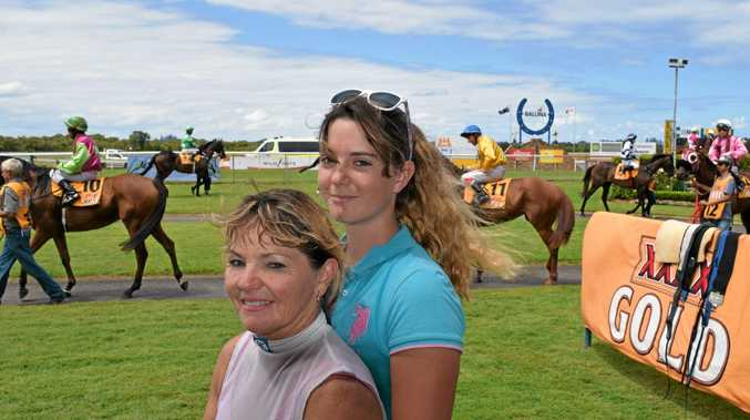 CHASING EQUALITY: Sheree Drake, pictured with daughter Kirsty Drake, has been racing for 12 years and has ridden 350 winners.