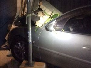Woman crashed into home while trying to evade RBT: police