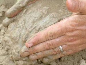 Sand modelling at Yamba