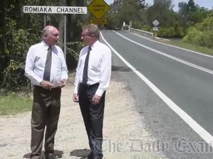 Warren Truss announces bridge money