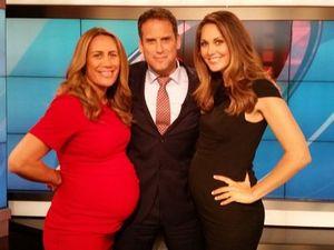 Pregnant TV presenter 'embarrassing and an eyesore'