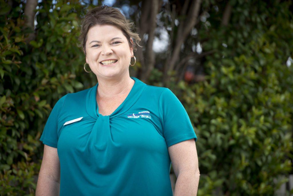 Tash Fee from the Gladstone Women's Health Care Centre. Photo Paul Braven / The Observer