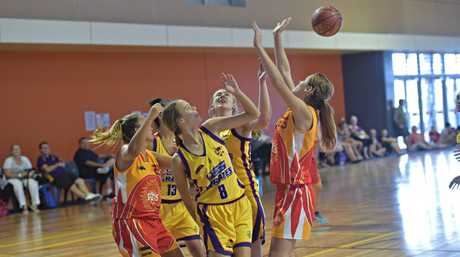 Under 18 State Basketball Championships. Caboolture Suns against Pirates.