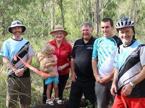 Legwork begins for new First Turkey Mountain Bike trails