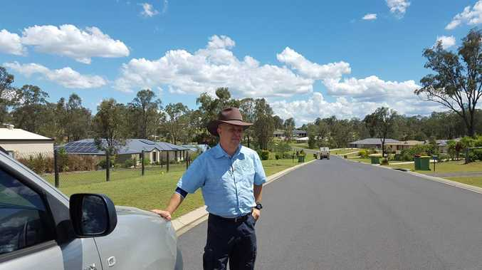 Lockyer Valley Regional Council mayoral candidate Peter O'Brien.