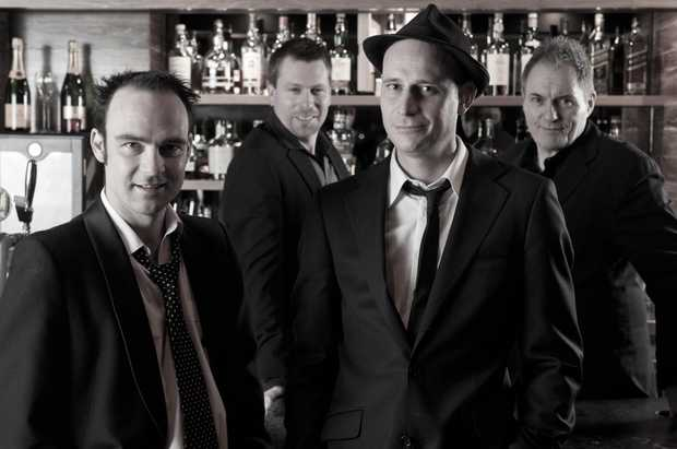 Melbourne band, The Shuffle Club