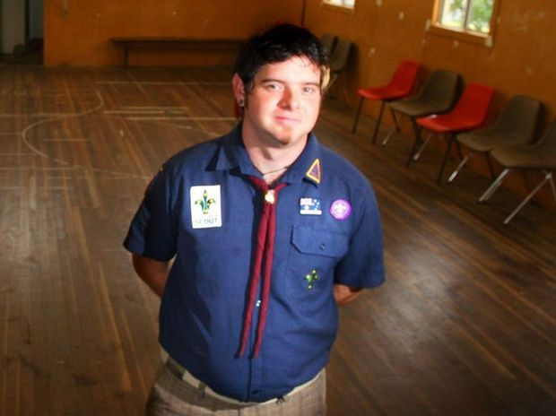 Former Ipswich Scouts Cub leader Brock Dittman, 31, will face trial this year over 129 child sex allegations.