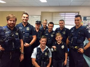 Boy, 10, spends day in the life of a copper