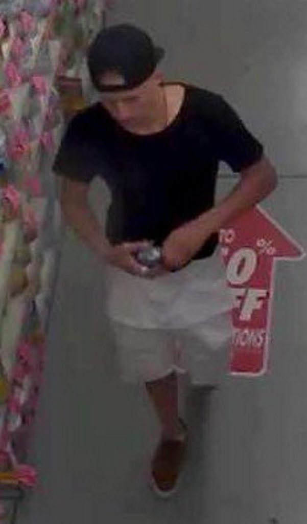 Gladstone police are looking for these three people in relation to shoplifting at Chemist Warehouse in Clinton.