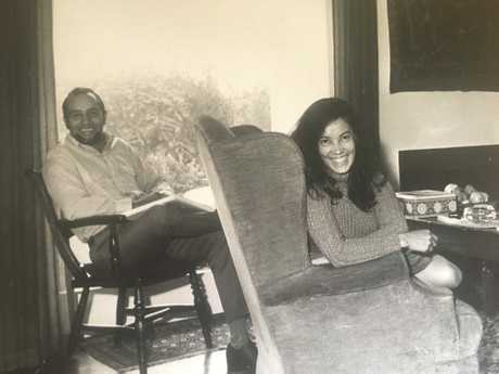 Dave and Alma Townsend in their younger years.