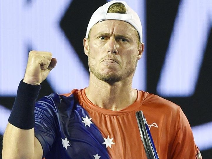 Lleyton Hewitt's hoping to continue his Australian Open run.