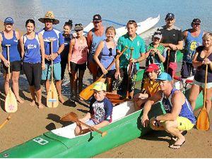 Keen yachties brush up on paddling skills