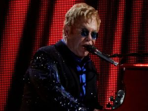 """Sir Elton John says his life is """"the best ride possible"""""""
