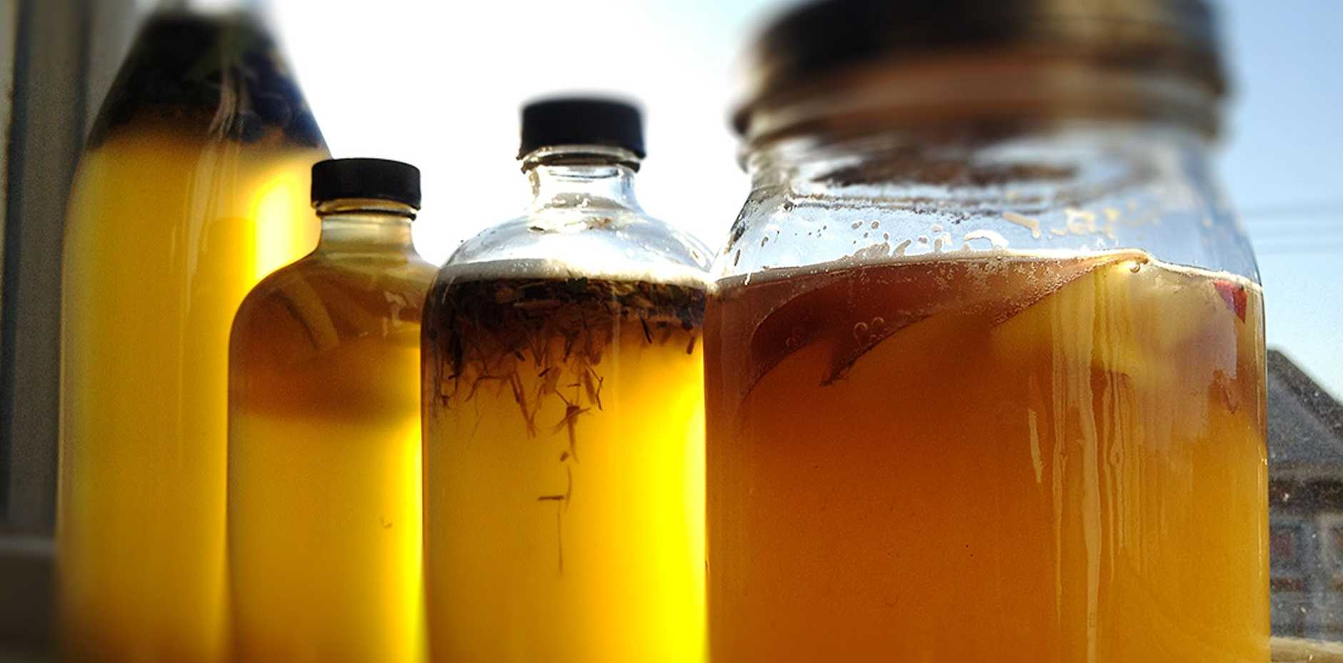 Kombucha can really help in the health of your gut.