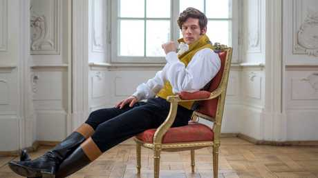 James Norton stars as Prince Andrei in War and Peace.