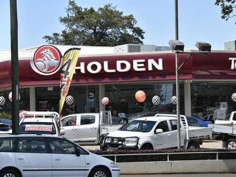 Toowoomba Holden.