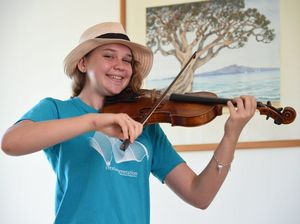 Teen violinist hits right notes with grant