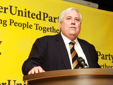 While donations to major political parties fell in 2014-2015, Clive Palmer injected almost $10 million into the Palmer United Party, including $5.9 million from the Queensland Nickel refinery.