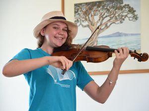 Julia Hill - violin student