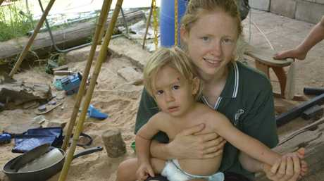 Helidon mother-of-three Kelly says her 18-month-old son Edward is lucky to be alive after being bitten by a brown snake. Snake bite Helidon Photo Tara Miko / The Chronicle