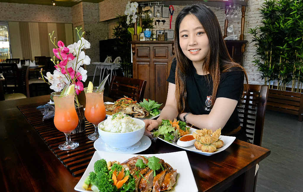ALL SMILES: Yena Jo from Thai on Ipswich.