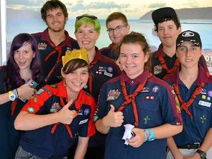 Venturers scout out the fun