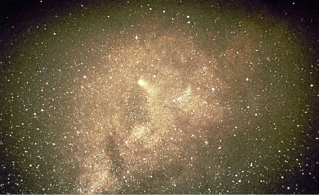NOODLES: Mysterious lumps have been seen in the Milky Way.