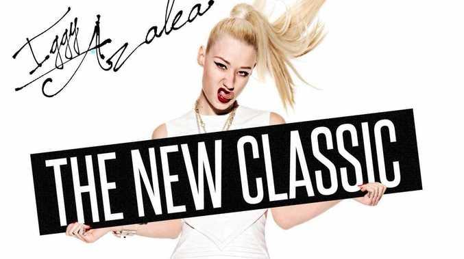 ALBUM: Iggy Azalea relelased her first album, The New Classic, last year.