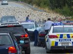 Flock of sheep end high speed police chase