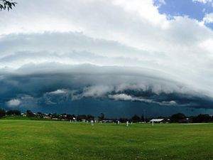 Severe weather warning as storm clouds roll over Coffs Coast