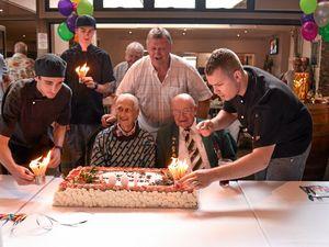 World War II veteran celebrates 100 years