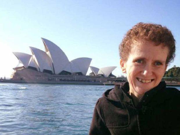 Shontel Dagan visiting Sydney Harbour last year.