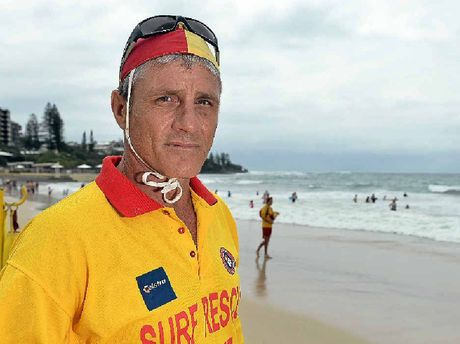 SAFETY CONCERNS: More than 75 rescues took place at Kings Beach on Saturday as large sets of waves kept life savers busy.