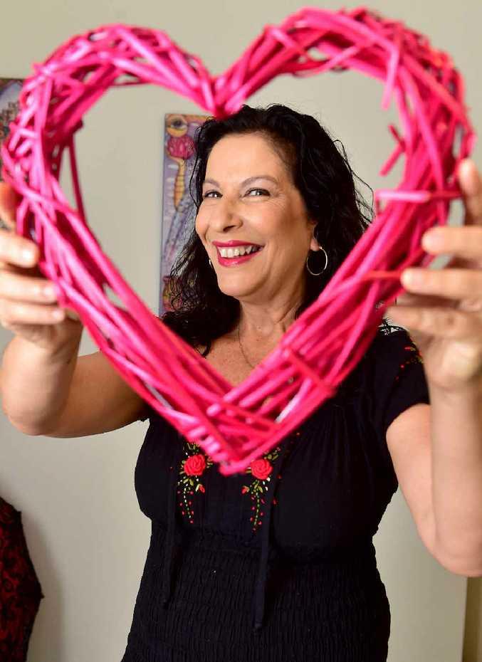 LOVES HER JOB: Sunshine Coast sex coach Pauline Ryeland.