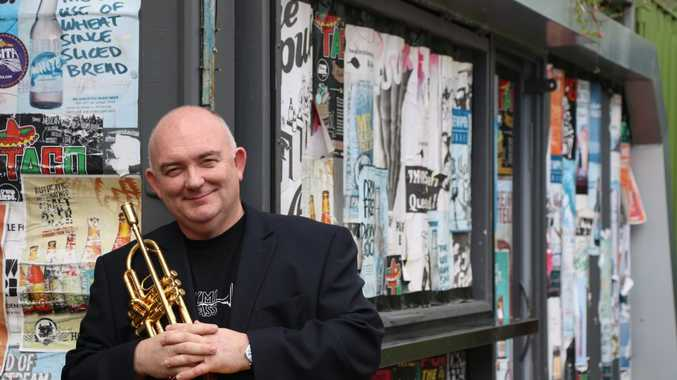 Trumpeter and former artistic director of the Queensland Music Festival James Morrison.