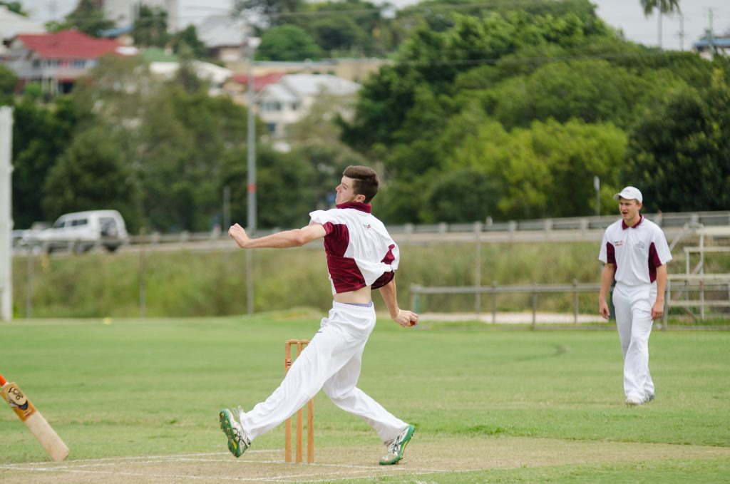 Gympie under-19 cricket captain Brycen Mitchell.