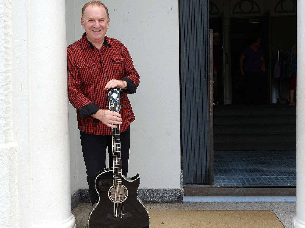 MAJOR ACHIEVEMENT:Graeme Connors is overwhelmed by being inducted into the Roll of Renown at the 2016 Tamworth Country Music Festival.