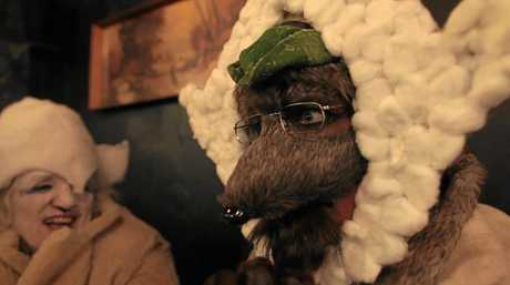 FLICK: An image from Seymour, The Cross Dressing Wolf (2015).