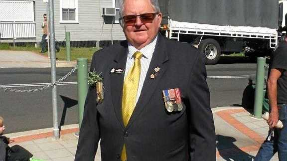 OAM RECIPIENT: Jack McDonough has been recognised for his years of service to the veteran community.