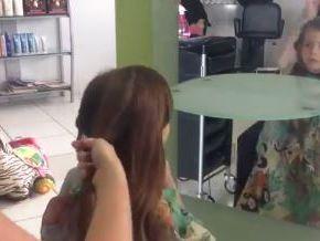 VIDEO: Mariah's hairy donation makes her heart happy