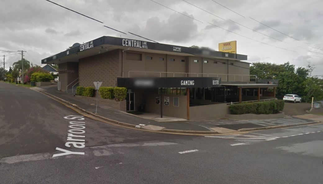 The woman was sexually assaulted at the Central Lane Hotel. Source: Google Maps.